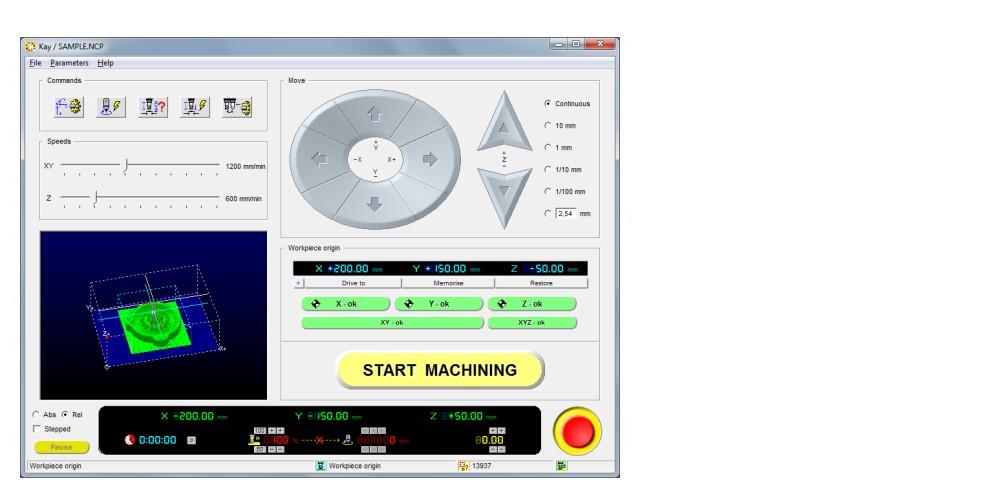 Kay Cnc Control Software